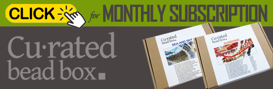 CuratedBeadBox Monthly Subscription